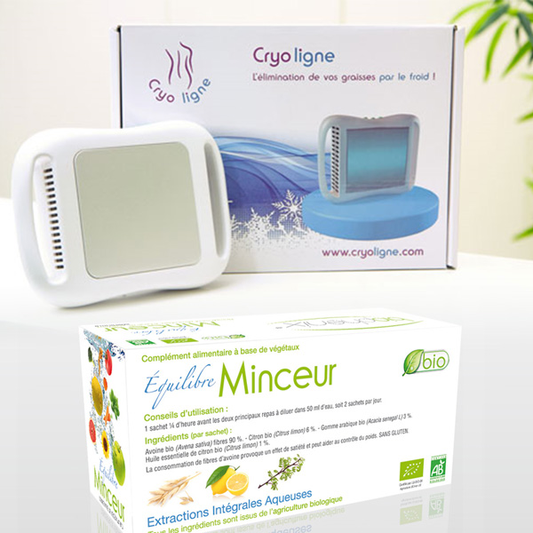 Pack Cryoligne + Equilibre Minceur